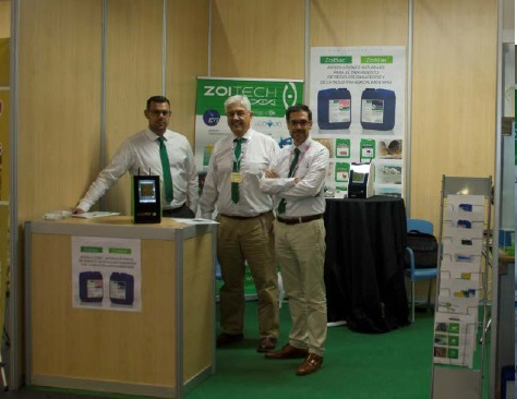 ZoitechLab team with the SQS in SEPOR 2016